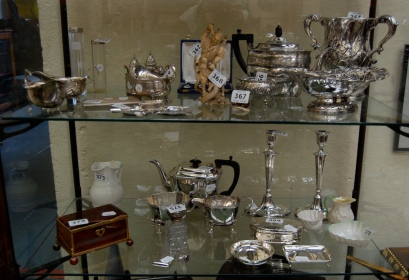 A selection from the cabinet.