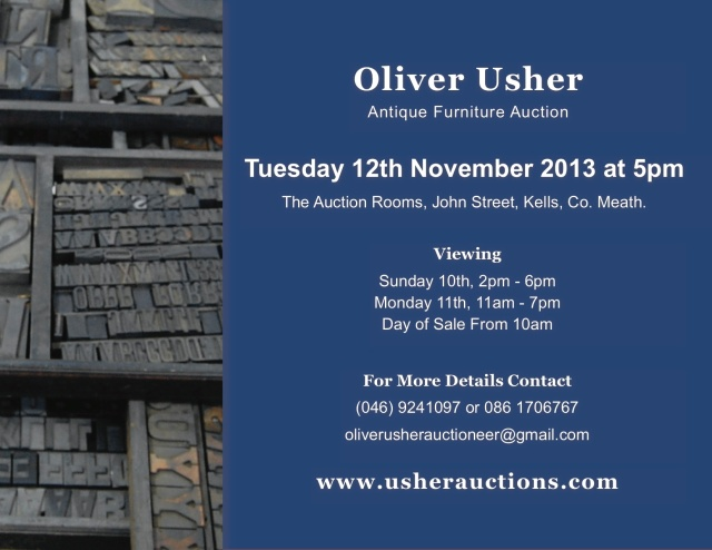 Next Auction - Tuesday 12th November at 5pm