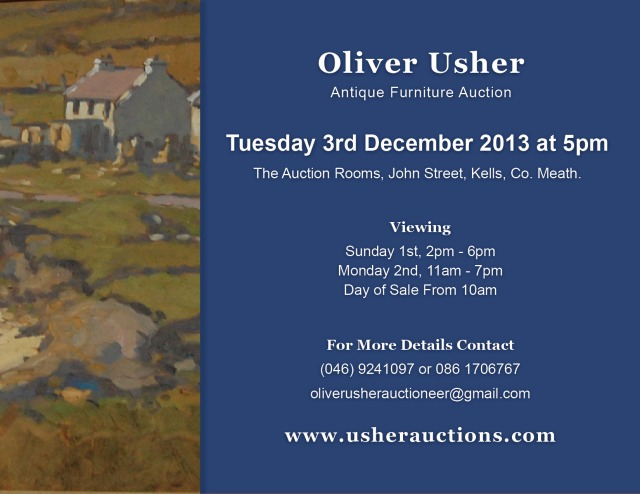 Next Auction - Tuesday 3rd December at 5pm