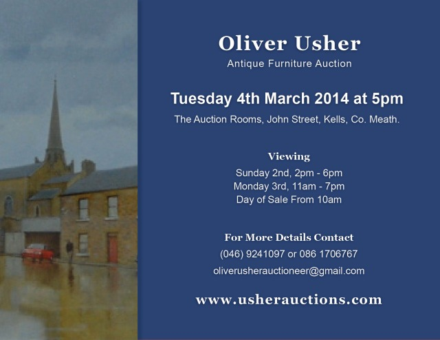 Next Auction – Tuesday 4th March at 5pm