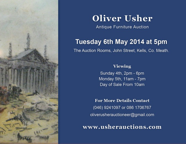 Next Auction – Tuesday 6th May at 5pm